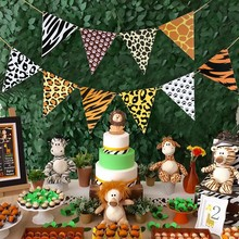 Animal Banner Jungle Party Decor Safari Birthday Party Decoration Kids Jungle Theme Party Safari Party Favors Baby Shower Boy