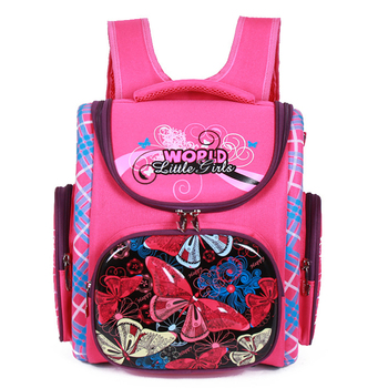 Orthopedic School Backpacks For Girls Cartoon Cat Primary School Bags 5-7Y Children Backpack School Bookbag Kids satchel Boy Bag 2