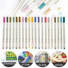 1 Set Premium Acryl Stifte Marker Stifte Farbe Stift Schreiben auf Steine Glas Schule Kunst Liefert Schreibwaren