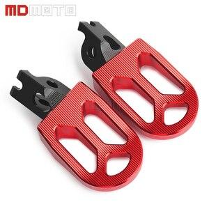 Image 5 - MDMOTO זוג אופנוע CNC הדום Footpeg רגל יתדות להונדה CRF250R CRF 250 R CRF 250R CRF250 R 2004   2019 2020 אביזרים