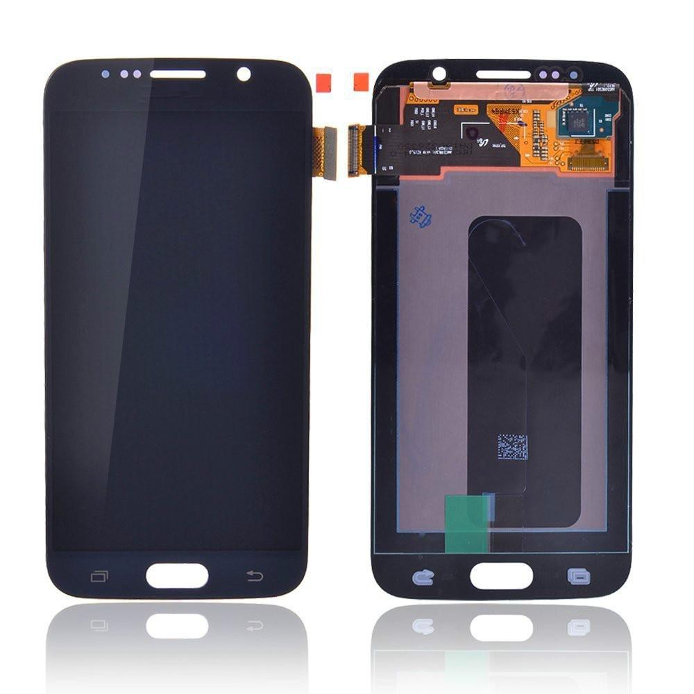 Lcd écran tactile numériseur téléphone Mobile remis à neuf pièces de réparation de remplacement pour samsung galaxy s6 g920
