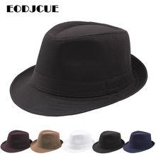 Moda kapelusz na lato Panama fedora z szerokim rondem jazzowy kapelusz mężczyźni na zewnątrz słońce kapelusz Retro melonik czapki gorro