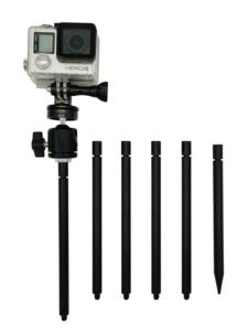 Крепление для камеры Trail | крепление для наземной шпильки | регулируемый наклон 1/4-20 шаровая Головка | подходит для скаутинга охотничьи камер...