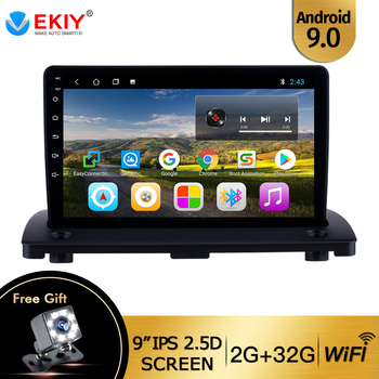 EKIY 9'' Android 9.0 Car Radio GPS Navi Multimedia Player For Volvo XC90 2004 2005 2006 2007 2008-2014 2Din Head unit Stereo image