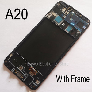 Image 3 - for Samsung A20 LCD screen display with touch with frame assembly Replacement repair parts A205 A205F SM A205F A205FN