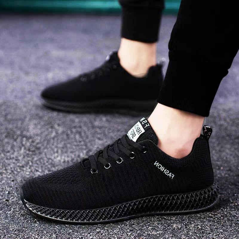 2019 Lace Up Ademende Tenis Mannen Schoenen Mannen Casual Vucanized Schoenen Sneakers Mannen Schoenen Mannelijke Flats Mesh Outdoor Wandelschoenen