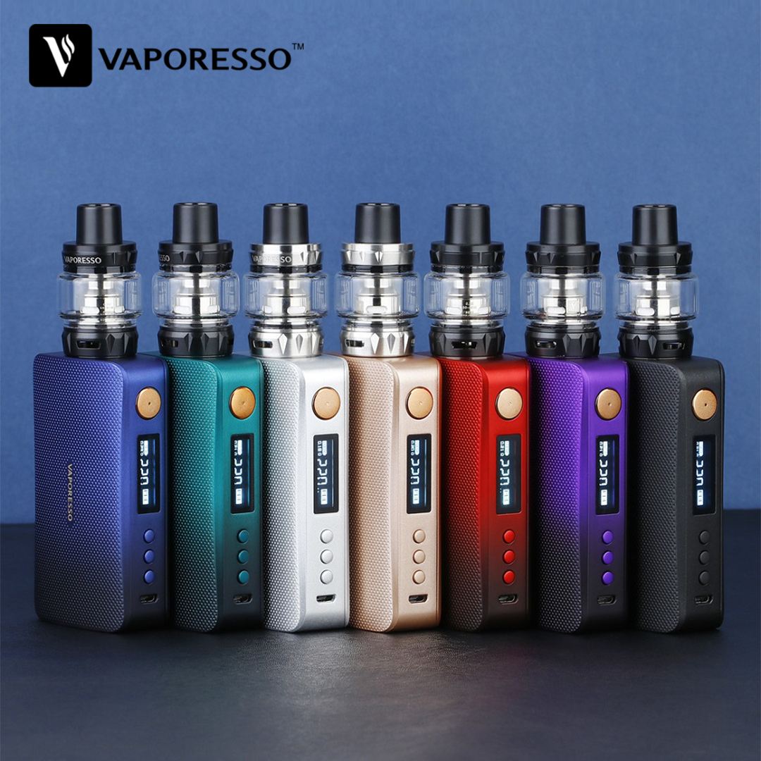 Updated Version!!! Original 220W Vaporesso GEN TC Kit with 8ml SKRR-S Tank & GEN <font><b>Mod</b></font> VS Vaporesso Polar 220W TC Kit <font><b>E</b></font>-cig Vape image
