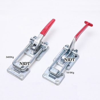 Heavy Duty Adjustable Toggle Clamp Fastener Toggle Hasp Latch Trailer Industrial Machine Equitment Levered Bar