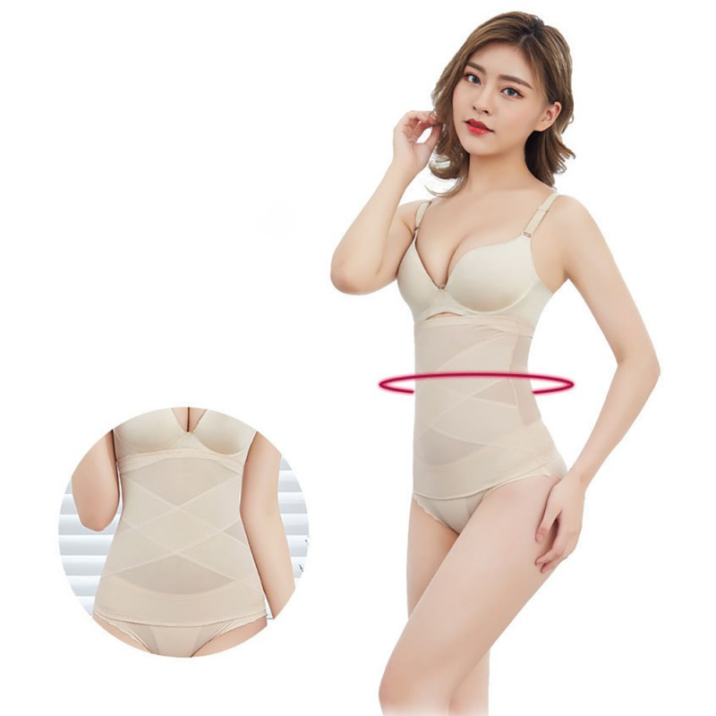 Body Shaping Body Underwear Women's Ultra-Thin Waistband Straps Waist Shaping Body Material Comfortable Breathable Fashion Wild