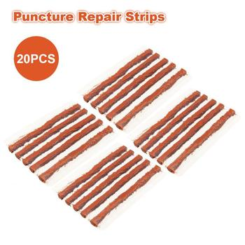 10/20 pcs Quick Fix Tubeless Seal Car Motorcycle Electrocar Tire Puncture Seal Repair Strip Plug Tyre Kit VTYRE image