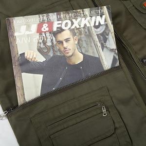 Image 5 - 男性の綿のマルチポケットベスト夏新男性カジュアル薄型ノースリーブジャケット多くポケットメンズカメラマンだぶだぶチョッキ