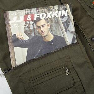 Image 5 - Men Cotton Multi Pocket Vest Summer New Male Casual Thin Sleeveless Jacket With Many Pockets Mens Photographer Baggy Waistcoat