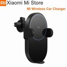 Xiaomi Mi chargeur de voiture sans fil 20W Max Qi chargeur de voiture sans fil avec capteur infrarouge Intelligent charge rapide support de téléphone de voiture
