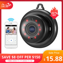 DIGOO DG MYQ 2.1mm 렌즈 720P 무선 미니 와이파이 나이트 비전 스마트 홈 보안 IP 카메라 Onvif 모니터 베이비 모니터