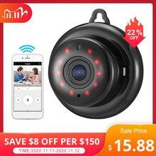 DIGOO DG MYQ 2.1mm Lens 720P kablosuz Mini WIFI gece görüş akıllı ev güvenlik IP kamera Onvif monitör bebek izleme monitörü