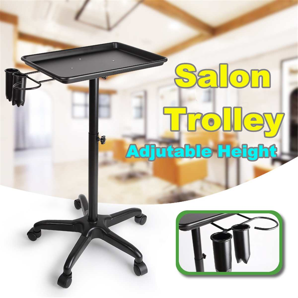New Salon Hairdresser Tattoo Service Trolley Station Colouring Hair Dentist Medical