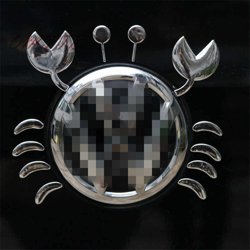 3D Хром смешной Краб автомобиля стикер s супер модный автостайлинг стикер на машине автомобильные отличительные знаки эмблема/Бейдж/логотип Декор