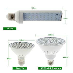 Image 3 - 220V Phytolamp E27 Full Spectrum LED Grow Light Flexible Metal Hose Clip on Growing Lights Indoor Phyto Lamps for Plants Flowers