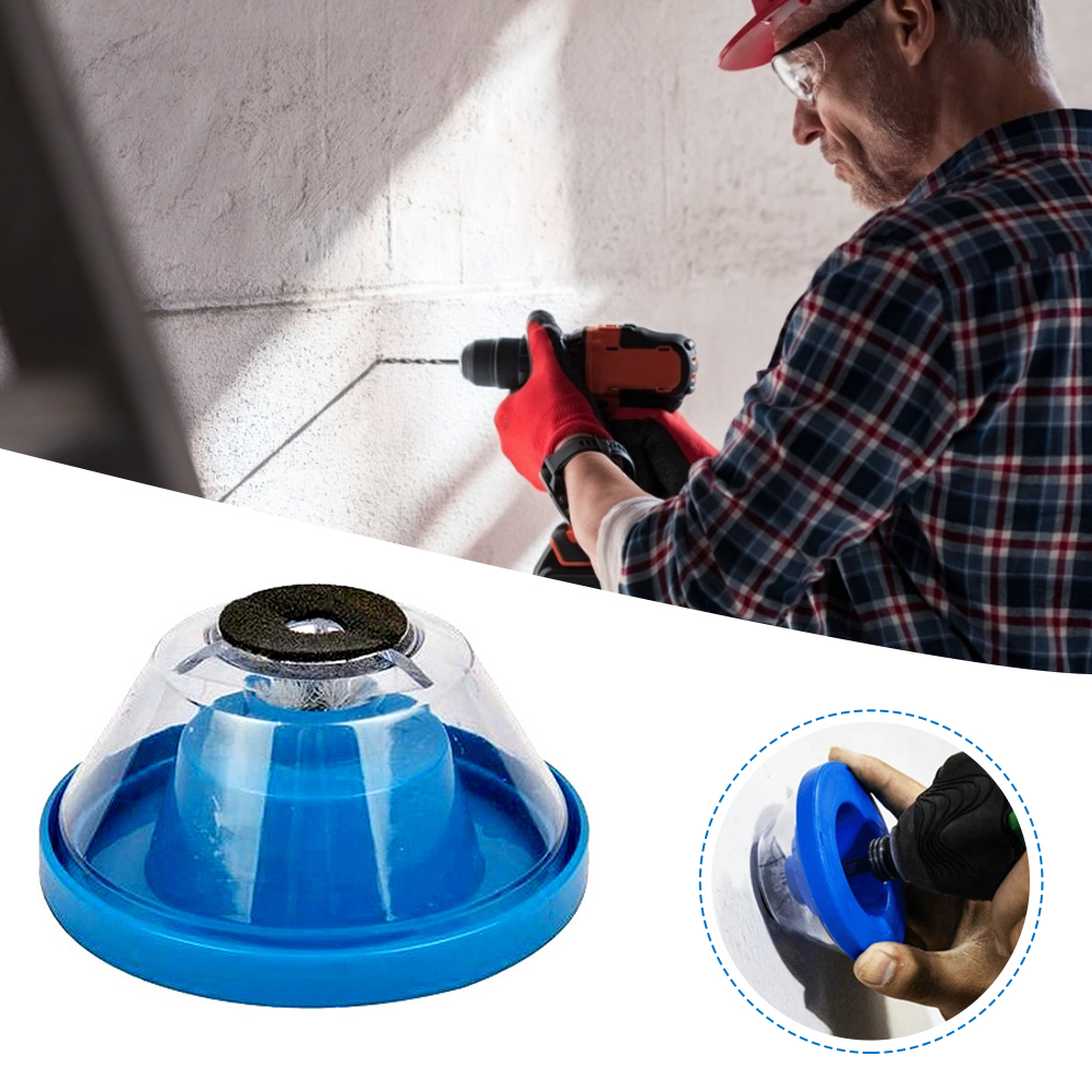 Electric Hammer Drill Dust Cover Drill Dust Collector Wall Dust Collector for Electric Hammer and Drill