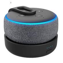 GGMM Base de batterie Portable dorigine pour Amazon Echo Dot 3rd Gen Station daccueil rechargeable pour haut parleur Alexa avec 8 heures de jeu