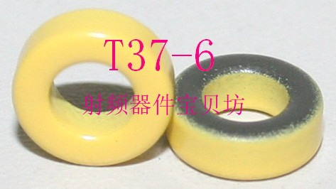 American RF Iron Powder Magnetic Core: T37-6
