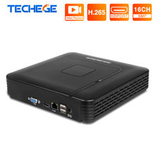 MISECU H.265 Max 5MP Ausgang CCTV NVR 16CH 5MP Sicherheit Video Recorder H.265 Motion Detection ONVIF P2P CCTV NVR APP fernbedienung