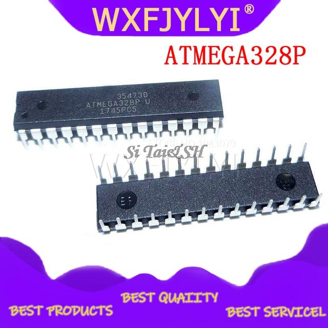 1 adet/grup ATMEGA328P çip ATMEGA328 ATMEGA328P PU MCU AVR 32K 20MHz flaş DIP 28