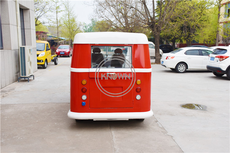 Aluminum Electric Food Cart Outdoor