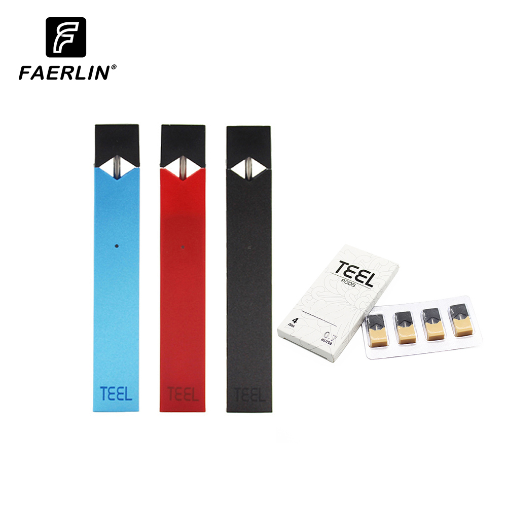 Mini Vaporizer Device Pod Vape Kit  E Cigarette Battery Vape Kit  0.7ML Cartridge Pods Device Starter Kitst For Pod Juul
