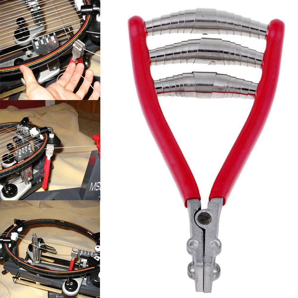 Tennis Badminton Racquet Metal Spring Starting Clamp Stringing Starter Tool Spring Starting Clamp Stringing Starter Tool Spring