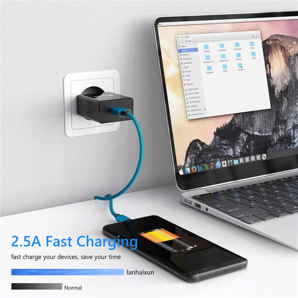 USB ประเภท C สาย S9 S8 Fast Charge Type-C โทรศัพท์มือถือชาร์จสาย USB C สำหรับ Xiaomi mi9 Redmi หมายเหตุ 7 K20 PRO สำหรับ Samsung