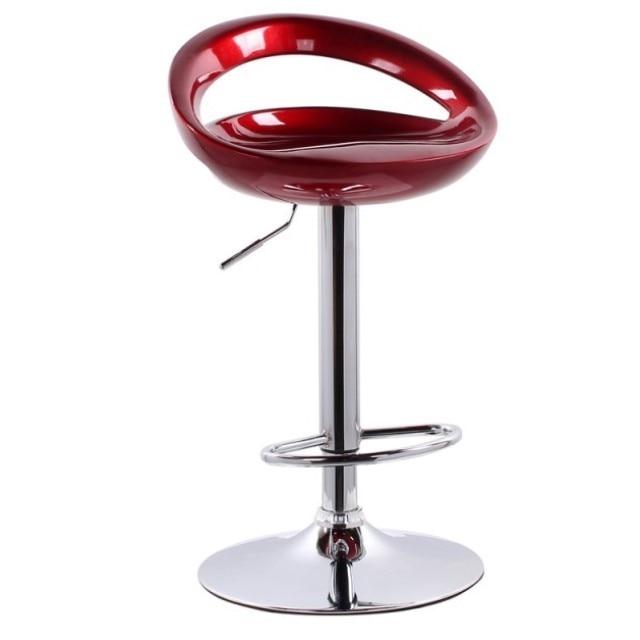 New Bar Chair Modern Minimalist High    Stool Mobile Phone Shop  Back Seat   Home Lift