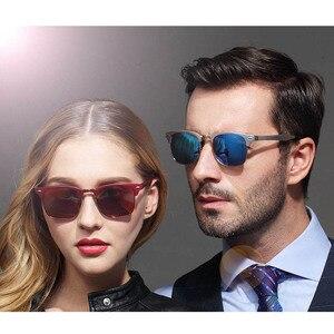 Image 4 - אלומיניום מגנזיום רטרו HD מקוטב משקפי שמש גברים נשים 3016 יוקרה מותג עיצוב ציפוי כונן גווני gafas דה סול Masculino