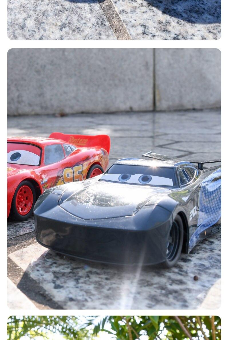 Disney deriva carro de controle remoto corrida