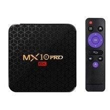 Mx10 Pro Smart Tv Box Android 9.0 Allwinner H6 Uhd 4K Media