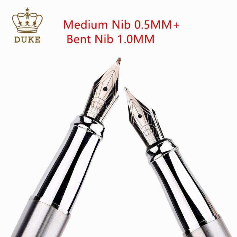 Бесплатная доставка, искусственная ручка для каллиграфии Duke 209, роскошная Высококачественная ручка 0,8 мм с рисунком, оригинальная ручка для ...