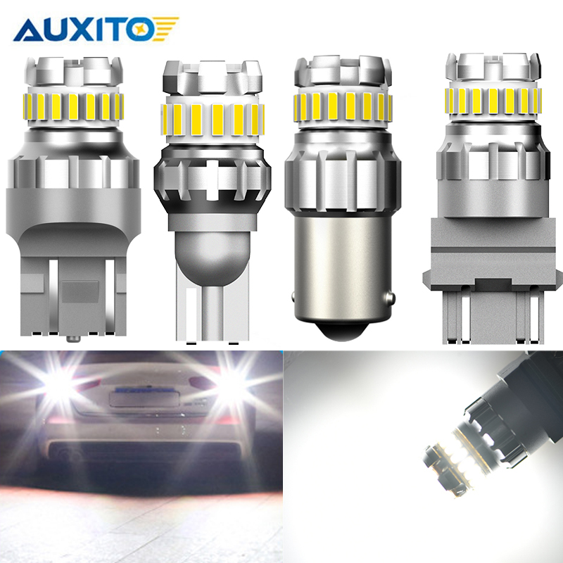 2pcs Car <font><b>LED</b></font> Reverse Lights Auto Canbus <font><b>No</b></font> <font><b>Error</b></font> Backup Reverse Lamp 12V W16W 921 T15 W21W 7440 T20 <font><b>P21W</b></font> BA15S 1156 3156 P27W image
