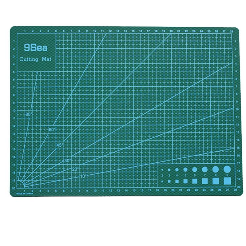 A3/A4 Double-sided Cutting Pad Quilting Cutting Mat Quilting Tool Manual Diy Tool Double-sided Self-repairing Office Stationery