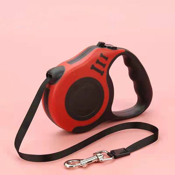 3M/5M Retractable Dog Leash Automatic Traction Rope Belt Dog Leash for Small Medium Dog 4 Colors to choose from pet supplies