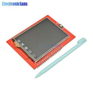 Image 4 - 2.4 אינץ TFT LCD מגע מסך חומת לarduino UNO R3 Mega2560 LCD מודול 18 bit 262,000 גוונים שונים תצוגת לוח מודול