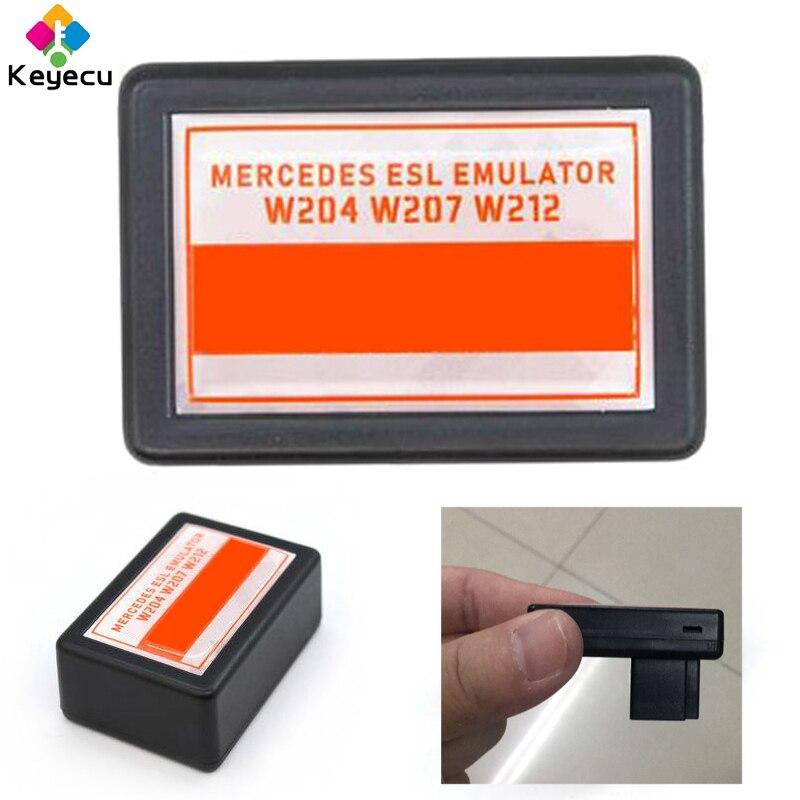 KEYECU ESL ELV blokada układu kierownicy Emulator dla mercedesa W204 W207 W212 kompatybilny z Abrites VVDI CGDI MB narzędzia