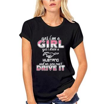 Camiseta con personalidad de Im a girl who drives, run dmc, mujer, sheriff, talla grande s ~ 5xL, hiphop