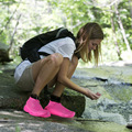 Silicone Shoe Cover Waterproof Shoe Cover Rainproof, Non-slip, Thick and Wear-resistant Adult Silicone Shoe Cover