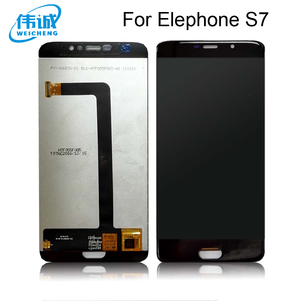 WEICHENG For Elephone S7 LCD Display and Touch Screen Assembly Screen