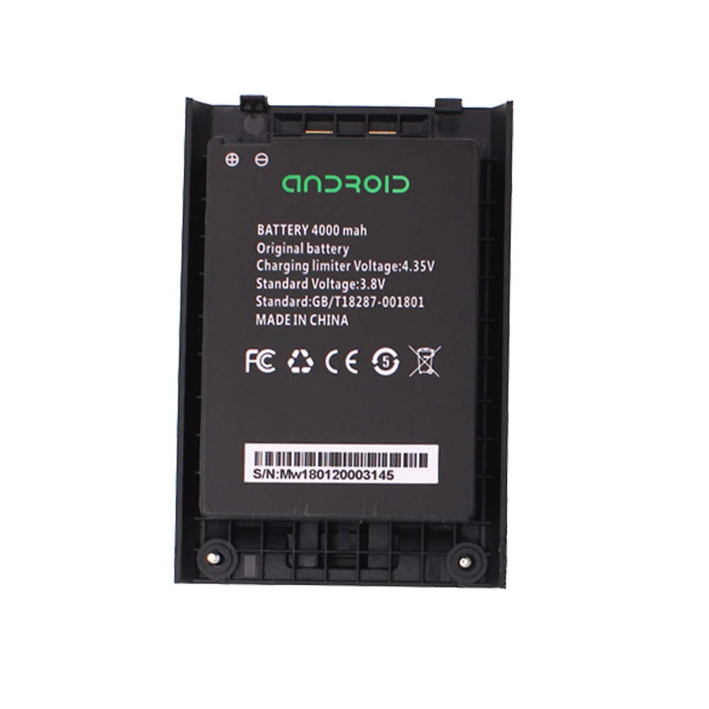 Original Battery For Anysecu 4G 7S+ Network Radio 7S Walkie Talkie 4000mah 3.8V Li Ion Battery