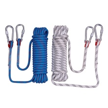 100m High strength Rappelling rope Climbing rope 10mm diameter Military quality Safety Escape Rope Hiking mountaineering rope