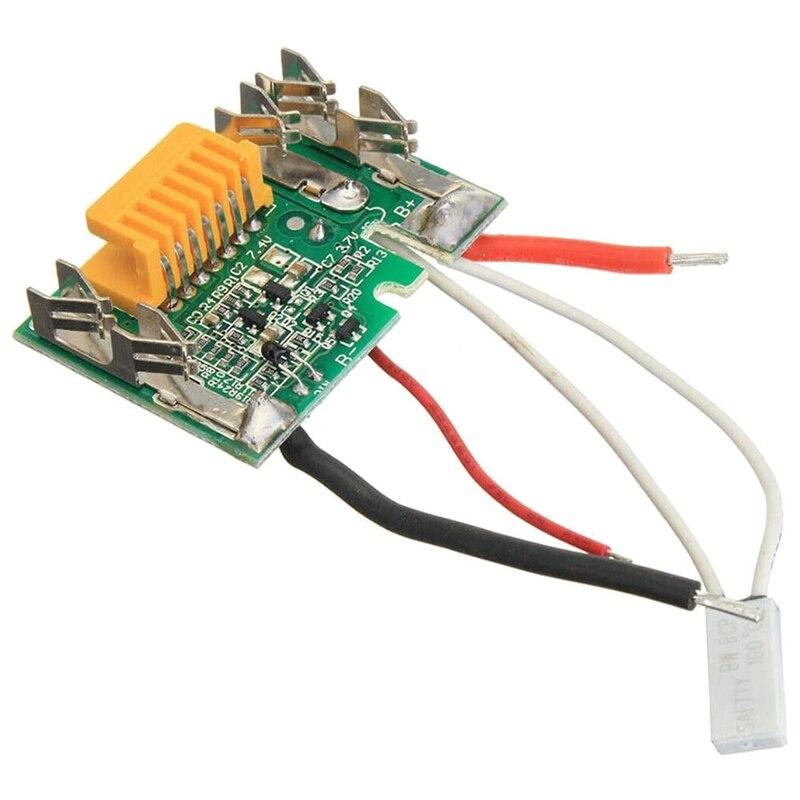 Монтажа на печатной зарядная Модульная плата Запчасти, литий ионный аккумулятор защиты для Makita Замена Батарея PCB Li Ion 18V Батарея PCB плата для Makita|Перезаряжаемые батареи|   | АлиЭкспресс