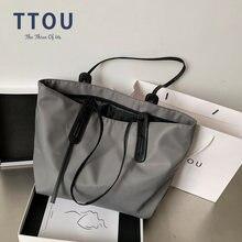 Зимняя большая сумка на плечо женские сумки для путешествий
