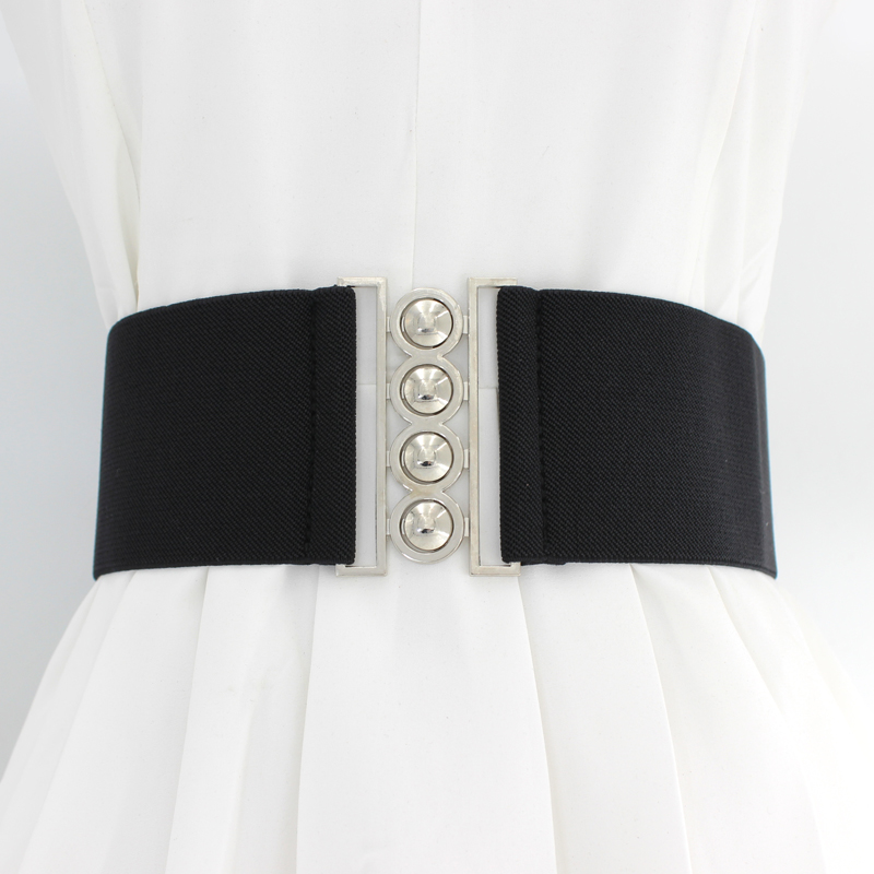 Corset Ceinture Large Elastique Femme Elastic Wide 7.5CM Belt Cinturon Elastico Mujer Cummerbund Wide Waist Belt