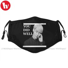 Shinee Jonghyun Mouth Face Mask You Did Well Facial Mask Kawai Funny with 2 Filters for Adult